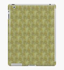 Grungy Green Scallops iPad Case/Skin