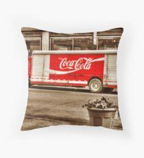 CocaCola Throw Pillow
