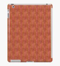 Grunge Pink Stripes With Yellow iPad Case/Skin