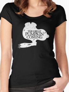 Game of Peanuts Women's Fitted Scoop T-Shirt
