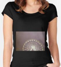 FILM WHEEL Women's Fitted Scoop T-Shirt