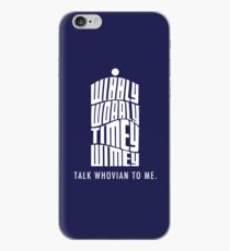 Talk Whovian To Me iPhone Case