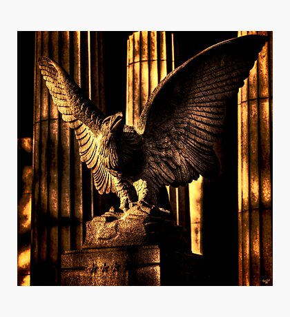 Eagle Detail, Grant's Tomb Photographic Print