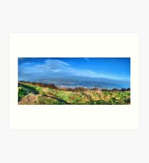 Surprise View Panorama Art Print