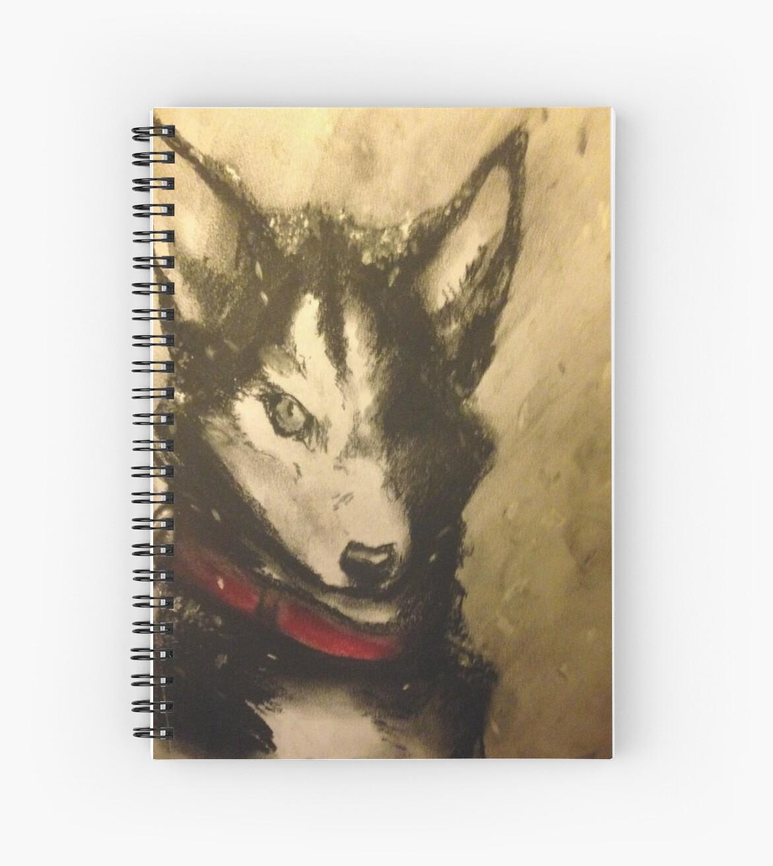 Husky in the snow by Renea-Jubilee