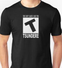 Tsundere rating Unisex T-Shirt