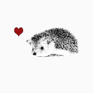 Hedgehog love by sandypants