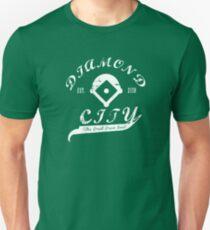 Diamond City - White Unisex T-Shirt