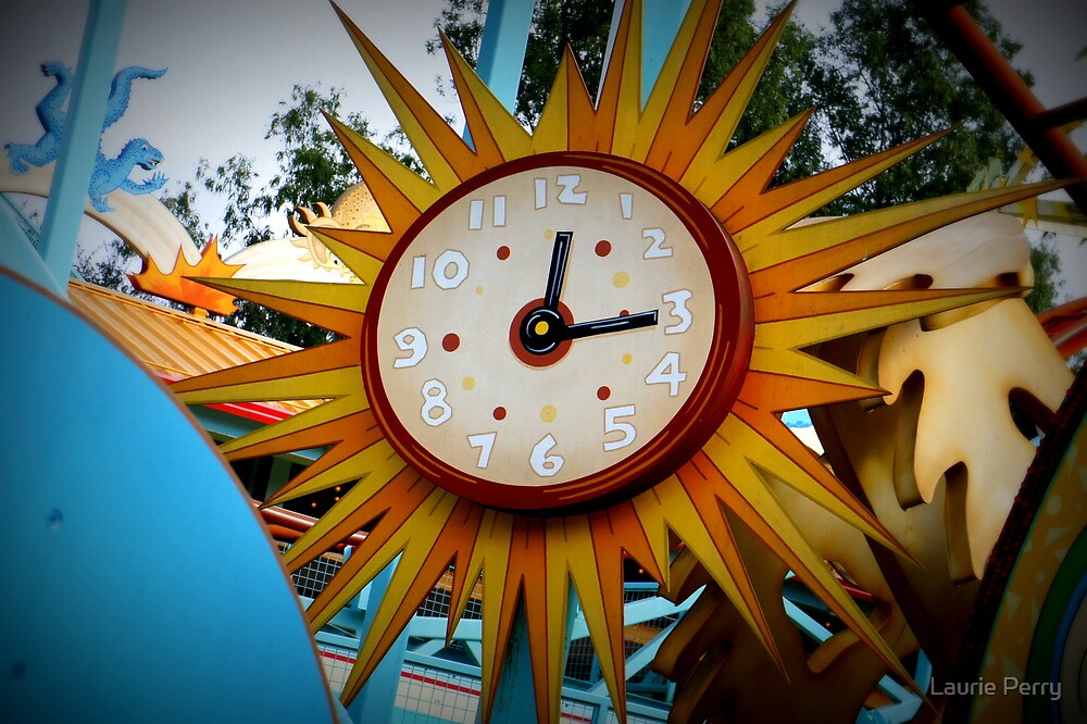 Sun Clock by Laurie Perry