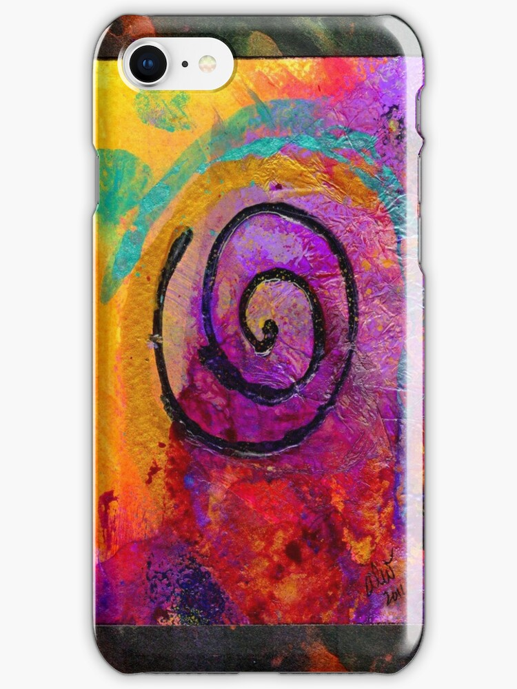 The Path to my Heart SPARKLES with Love - iPhone Case by © Angela L Walker