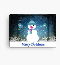 Frosty the snow woman!!! © Canvas Print