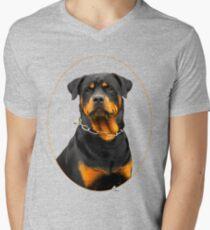 rottweiler Men's V-Neck T-Shirt