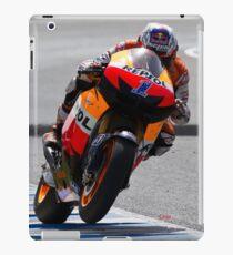 casey stoner in Jerez 2012 iPad Case/Skin