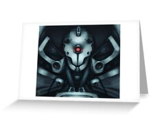 Mobile Suit - Stray Greeting Card