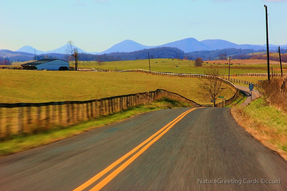 New Country SideTo Explore by NatureGreeting Cards ©ccwri