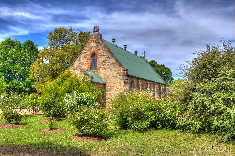 St. Matthias' Anglican Church Bombala NSW no3 by Kym Bradley
