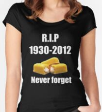 R.i.p twinkie Women's Fitted Scoop T-Shirt