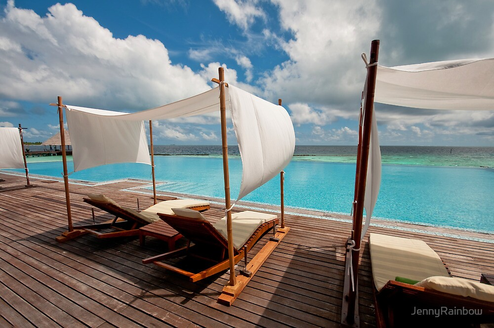 Windy Day at Maldives by JennyRainbow