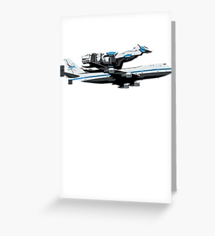 The Final Flight Greeting Card