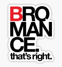 BROMANCE (light) Sticker