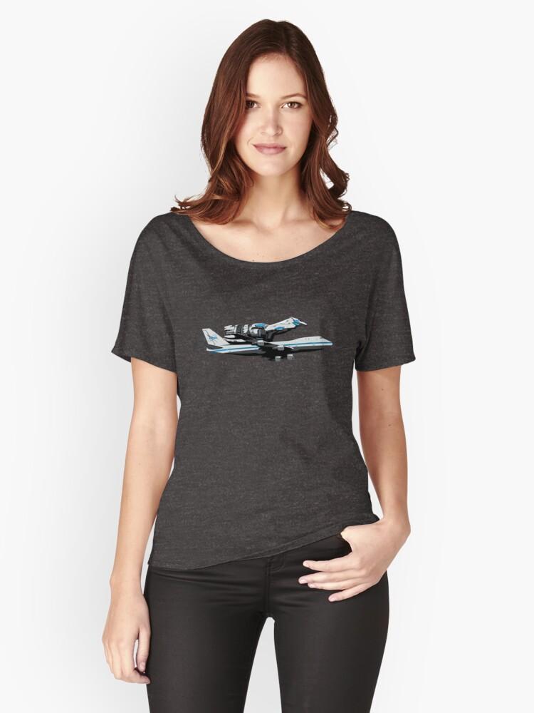 The Final Flight Women's Relaxed Fit T-Shirt Front