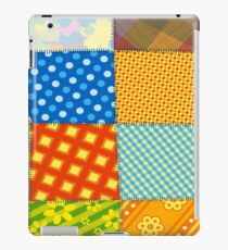 Colorful Retro Sewed Stitching Pattern iPad Case / iPhone 5 / iPhone 4 Case / Samsung Galaxy Cases  iPad Case/Skin