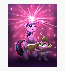 Twilight Sparkle Magic Photographic Print