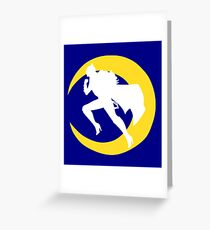 In the Name of the Moon Greeting Card
