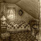 Second Attic Bedroom On the 3rd Floor, Lizzie Borden's Home by Jane Neill-Hancock