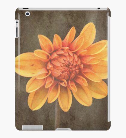 Orange Dahlia iPad Case/Skin