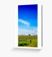 Little Church on the Hill Greeting Card