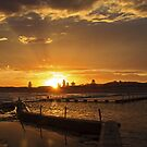 Sunset North Narrabeen Pool by Doug Cliff