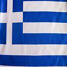 Greek Flag by Steve Outram