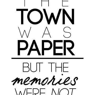 Paper Towns Quote by berryghost