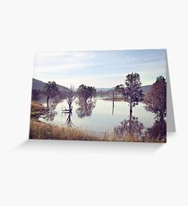 Lake Hume, Rural NSW Greeting Card
