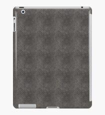 Gray Textured Industrial Metal iPad Case/Skin