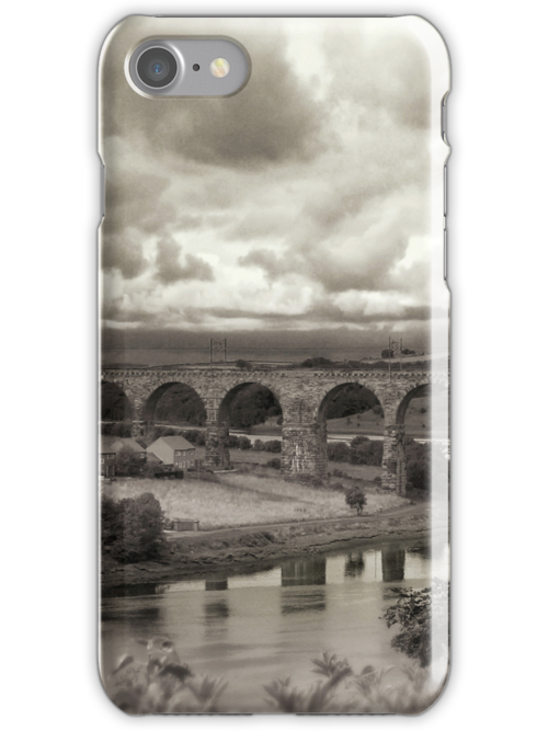The Railway bridge in Berwick upon Tweed by Phillip Shannon