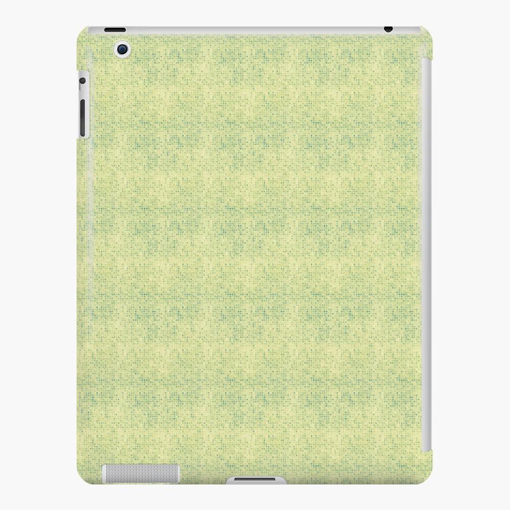 Faded Blue Micro Dots on Yellow iPad-Hülle & Skin