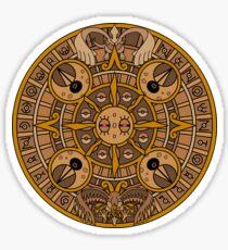 Pokemon Mayan Calendar Sticker