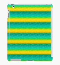 Blue and Yellow Sand Dunes Abstract iPad Case/Skin