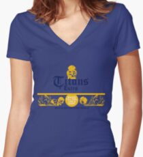 Titans Extra Women's Fitted V-Neck T-Shirt