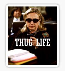 Throwback - Hillary Clinton Sticker