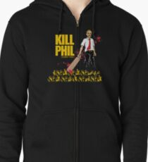 Kill Phil (Sorry Phil) Zipped Hoodie