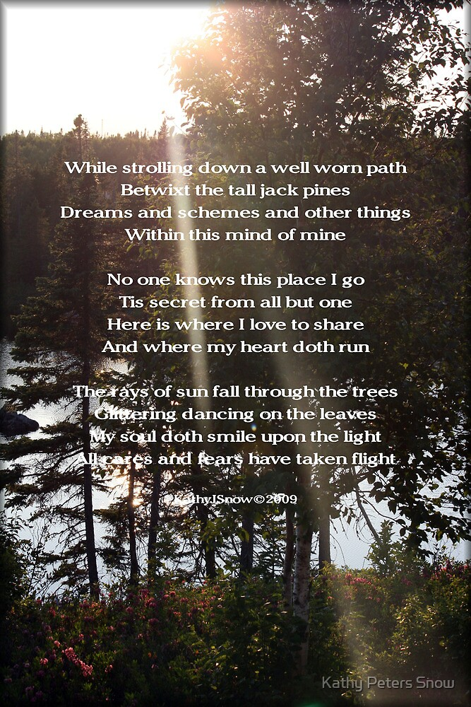 A Poem For Katie by Kathy Peters Snow