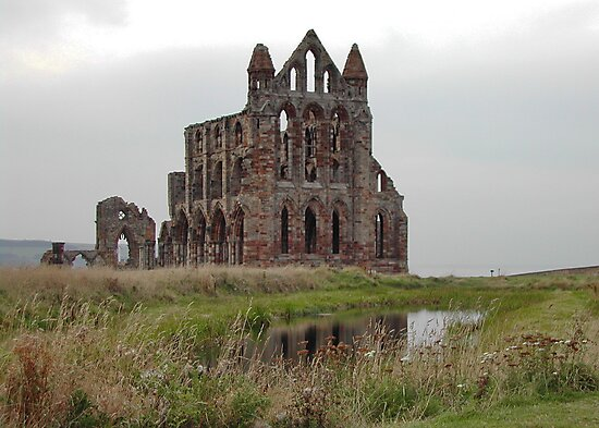 Whitby Abbey North Yorkshire by AnnDixon
