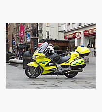 Ambulance Motorbike Photographic Print