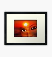 Sunset 12 Framed Print