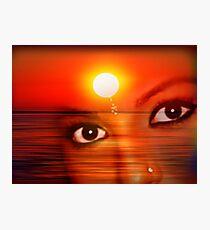 Sunset 12 Photographic Print