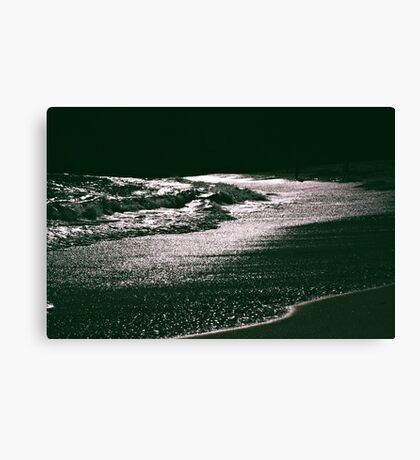 Silver Seas Canvas Print