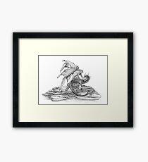 Scaly Dragon Framed Print